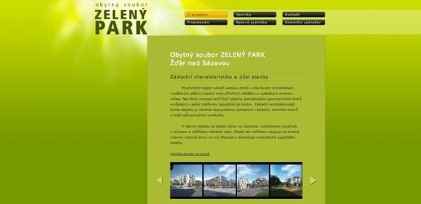 Zelený park
