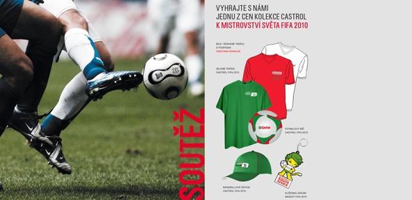 CASTROL - soutěž MS FIFA 2010